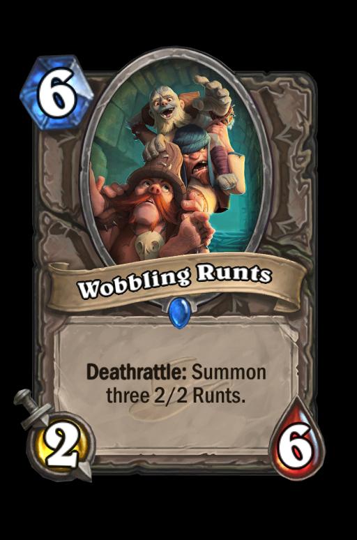 Wobbling Runts Hearthstone kártya
