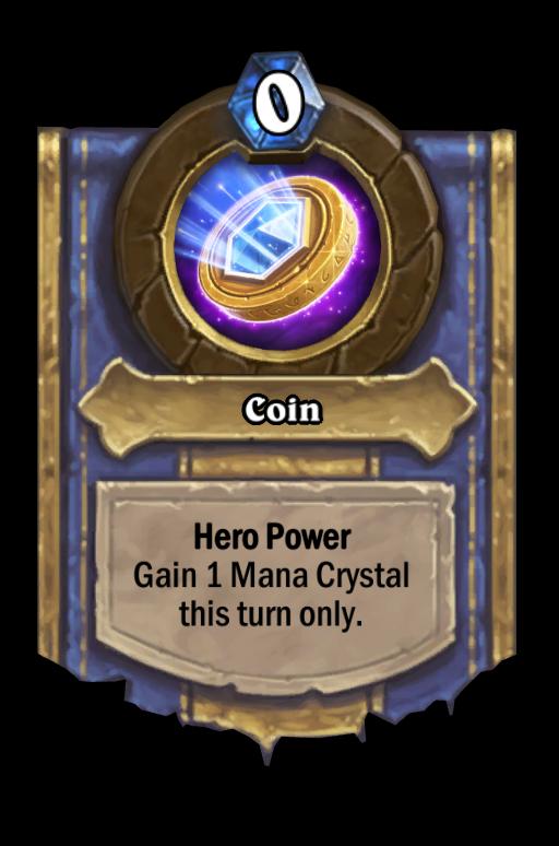 Coin Hearthstone kártya
