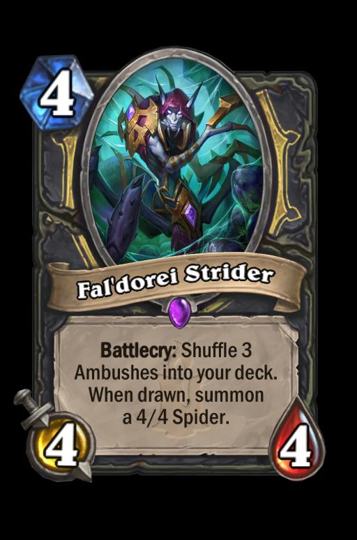 Fal'dorei Strider Hearthstone kártya