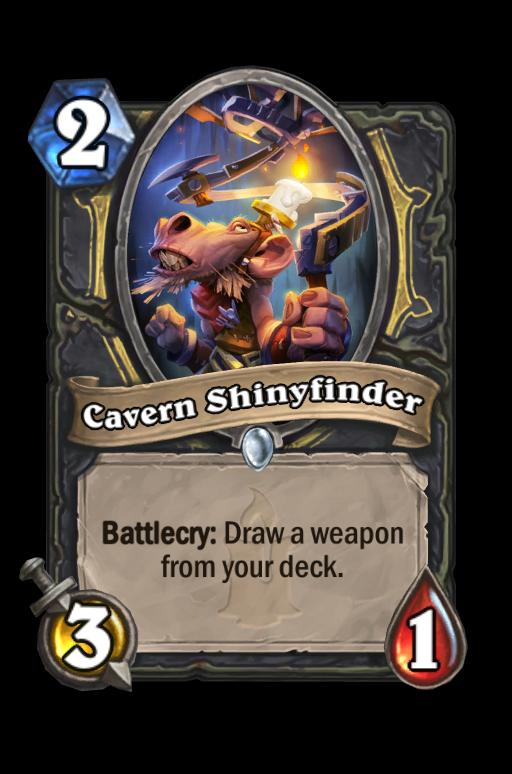 Cavern Shinyfinder Hearthstone kártya