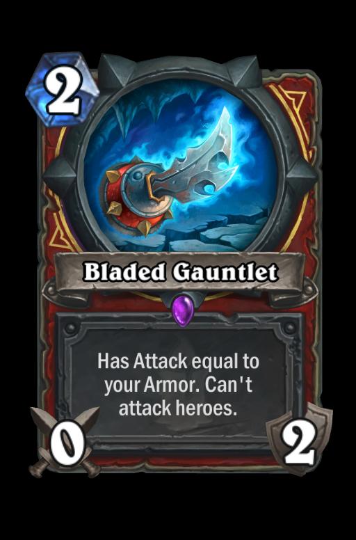 Bladed Gauntlet Hearthstone kártya