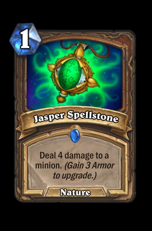 Jasper Spellstone Hearthstone kártya