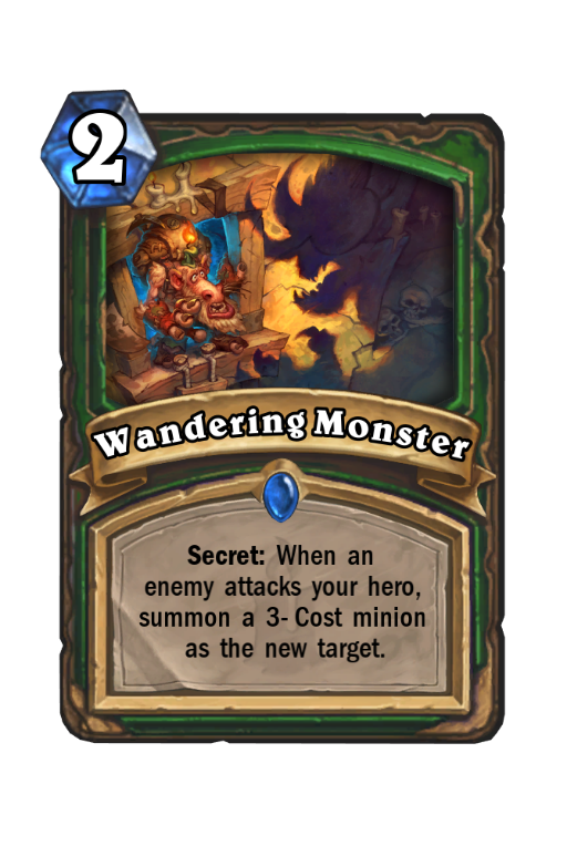 Wandering Monster Hearthstone kártya