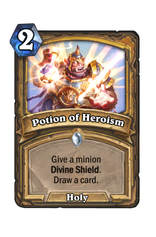 Potion of Heroism Hearthstone kártya