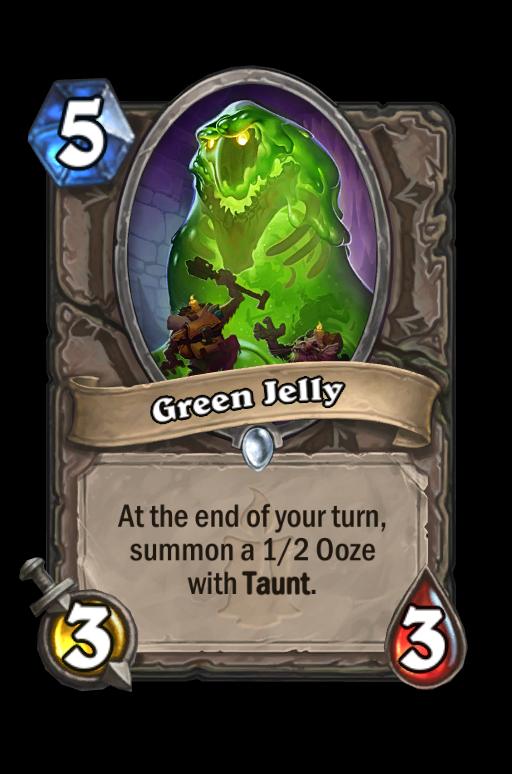 Green Jelly Hearthstone kártya