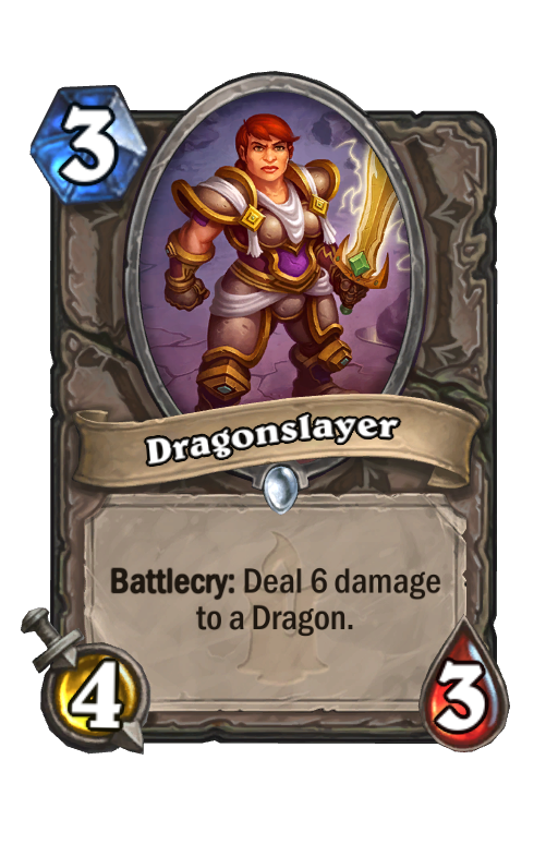 Dragonslayer Hearthstone kártya