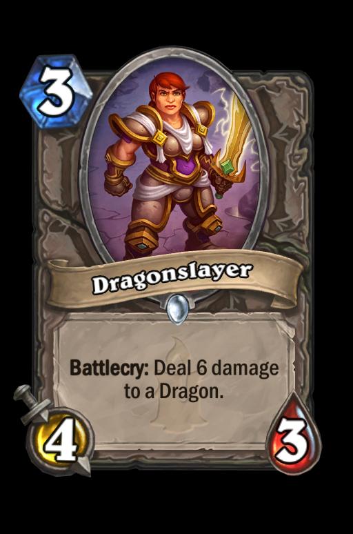 Dragonslayer Hearthstone kártya