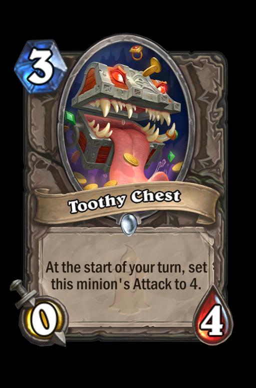 Toothy Chest Hearthstone kártya
