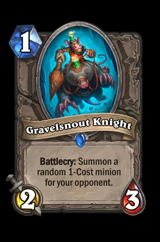 Gravelsnout Knight Hearthstone kártya