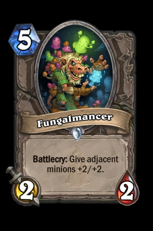 Fungalmancer Hearthstone kártya
