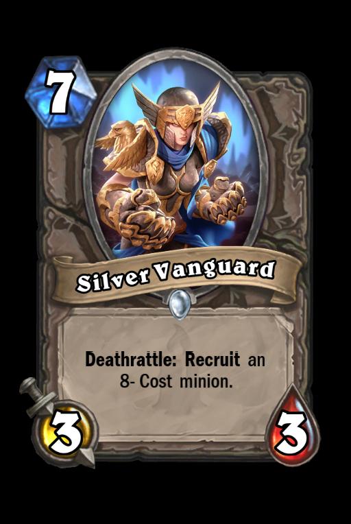 Silver Vanguard Hearthstone kártya