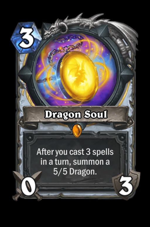 Dragon Soul Hearthstone kártya