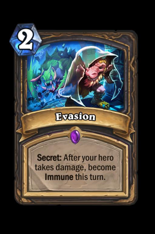 Evasion Hearthstone kártya