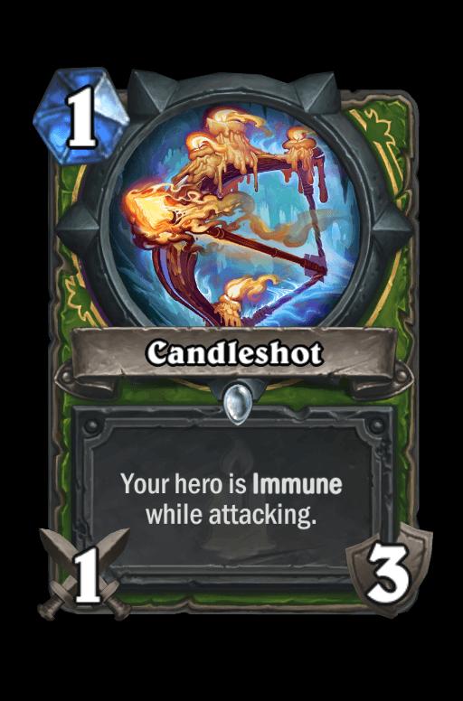 Candleshot Hearthstone kártya