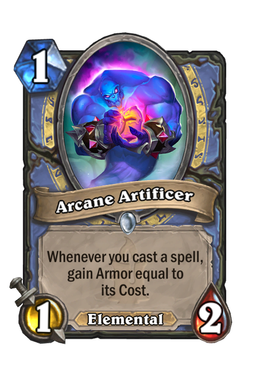 Arcane Artificer Hearthstone kártya