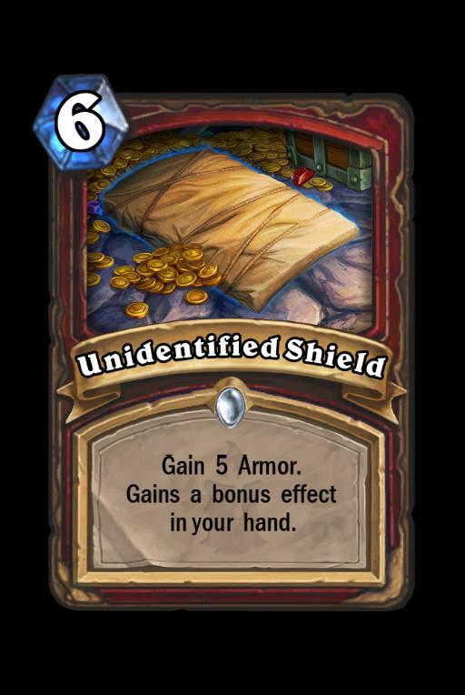 Unidentified Shield Hearthstone kártya