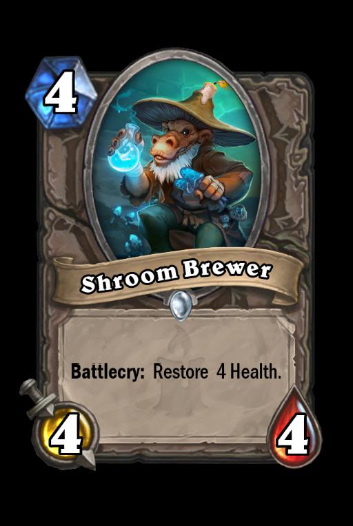 Shroom Brewer Hearthstone kártya