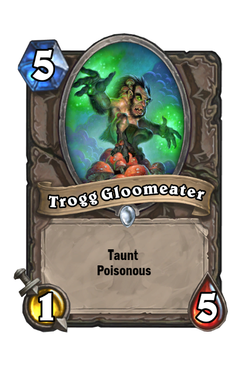 Trogg Gloomeater Hearthstone kártya