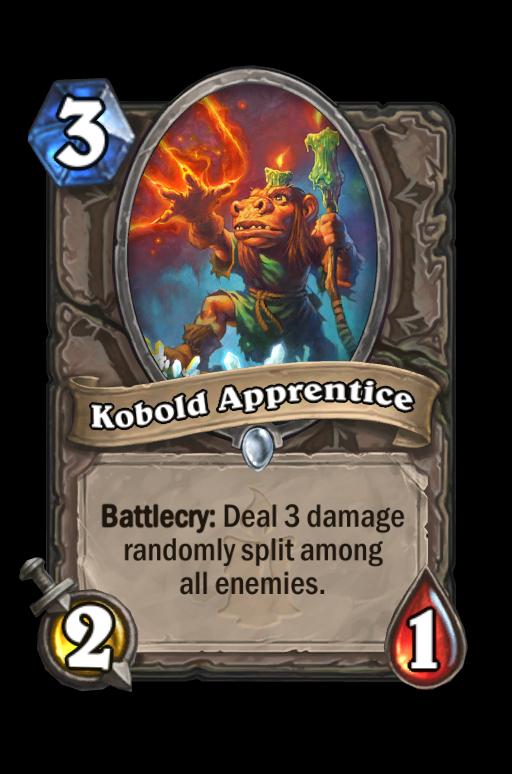 Kobold Apprentice Hearthstone kártya