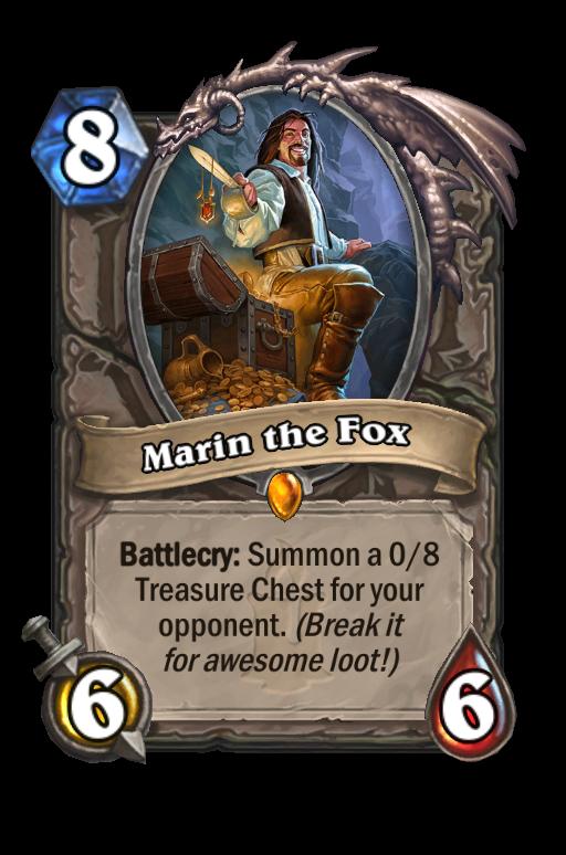 Marin the Fox Hearthstone kártya