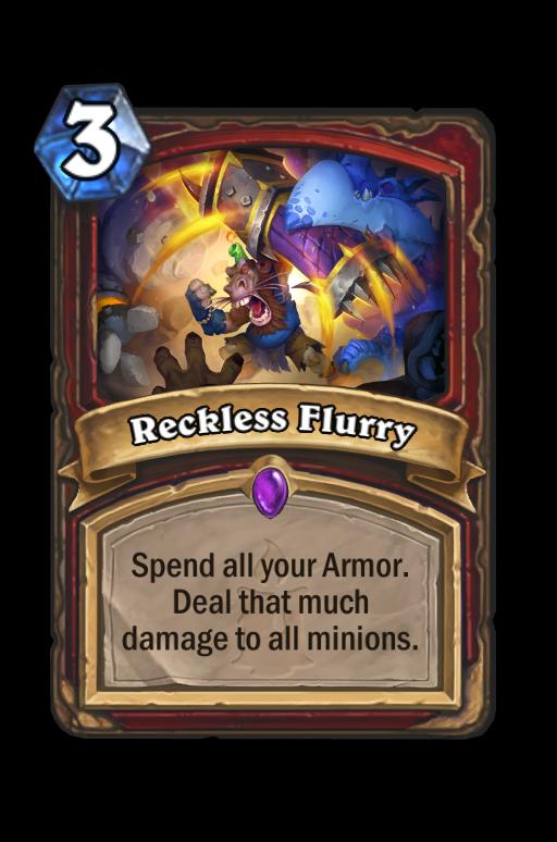 Reckless Flurry Hearthstone kártya