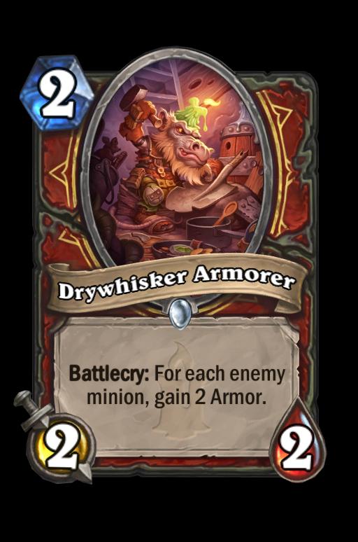 Drywhisker Armorer Hearthstone kártya