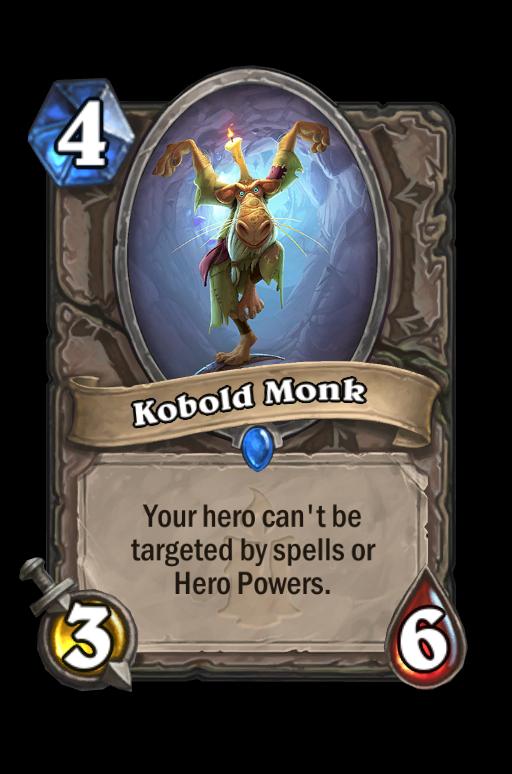 Kobold Monk Hearthstone kártya