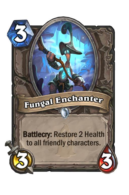 Fungal Enchanter Hearthstone kártya