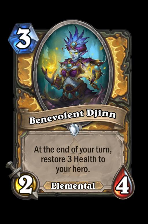 Benevolent Djinn Hearthstone kártya