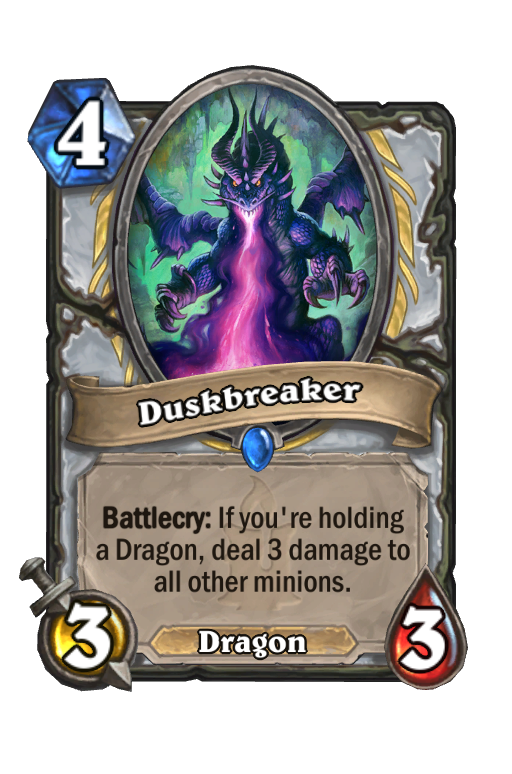 Duskbreaker Hearthstone kártya