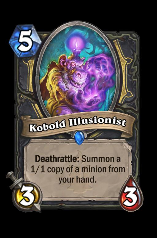 Kobold Illusionist Hearthstone kártya