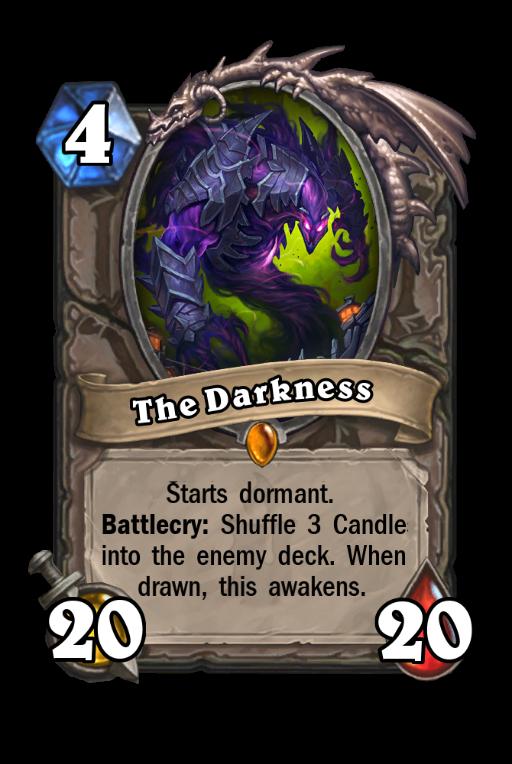 The Darkness Hearthstone kártya