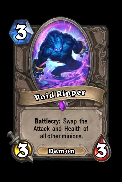 Void Ripper Hearthstone kártya
