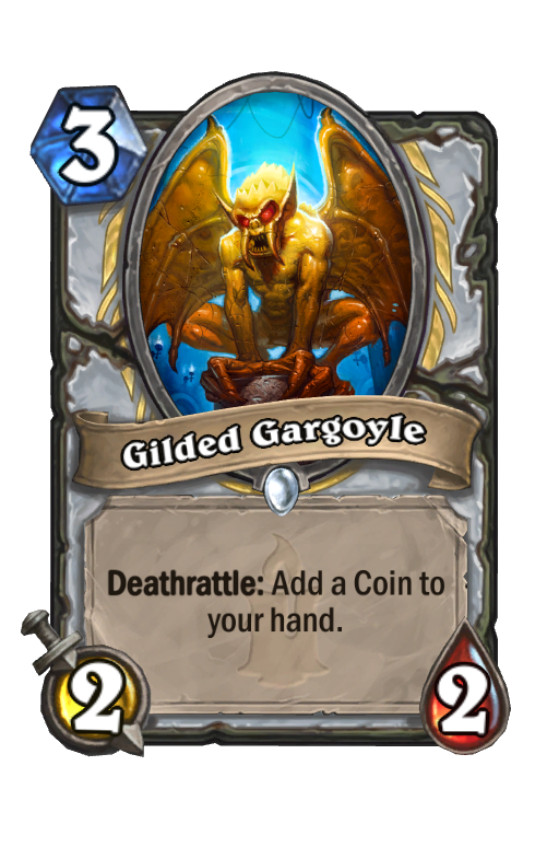 Gilded Gargoyle Hearthstone kártya