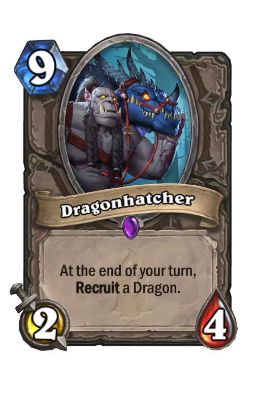 Dragonhatcher Hearthstone kártya