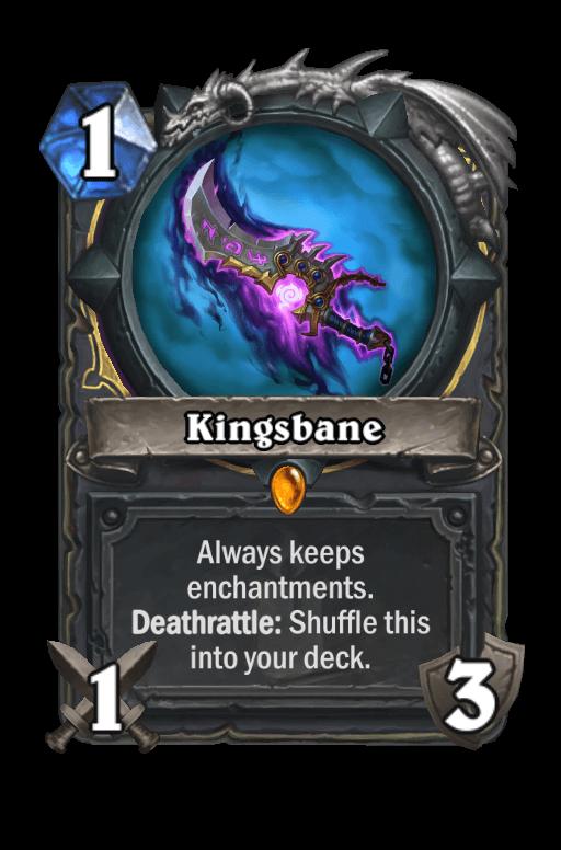 Kingsbane Hearthstone kártya
