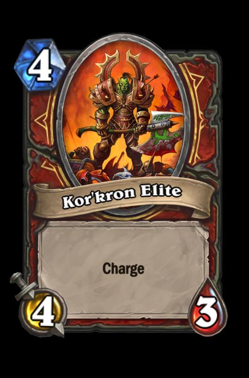 Kor'kron Elite Hearthstone kártya
