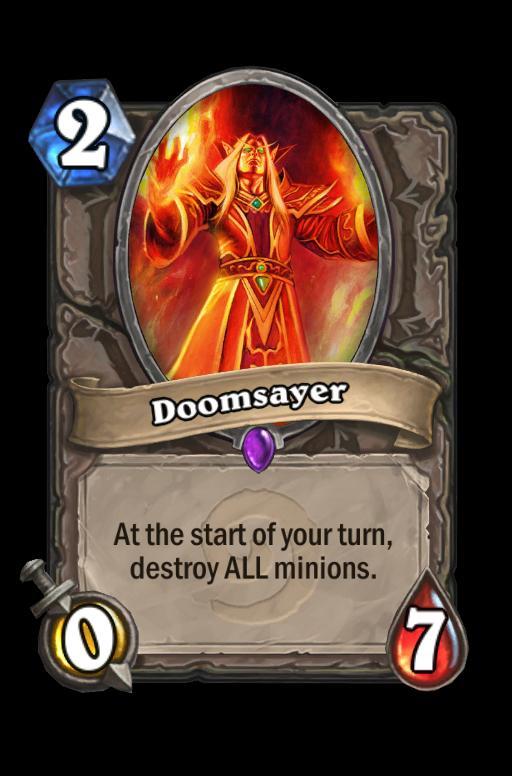 Doomsayer Hearthstone kártya