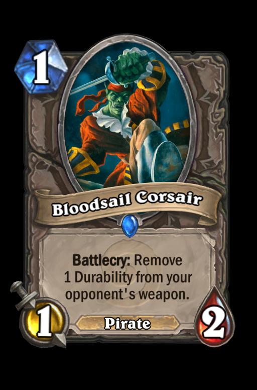 Bloodsail Corsair Hearthstone kártya
