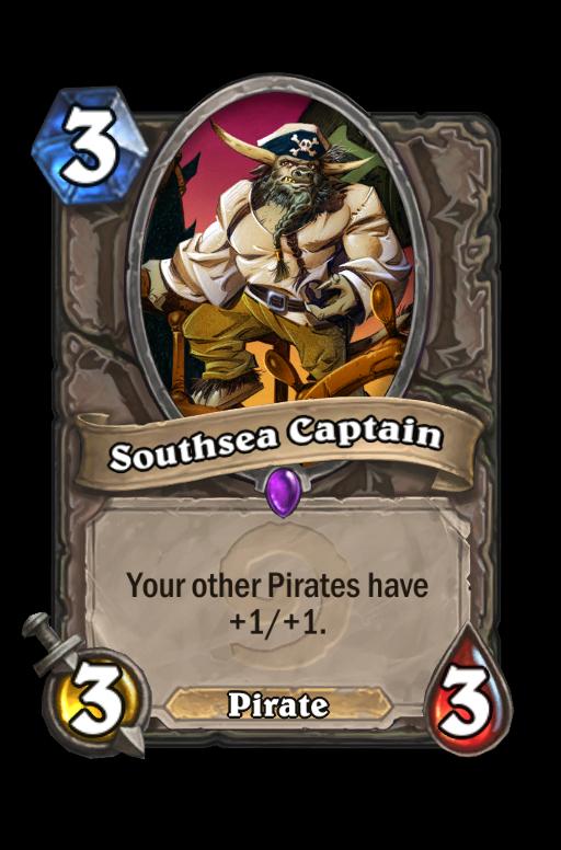 Southsea Captain Hearthstone kártya
