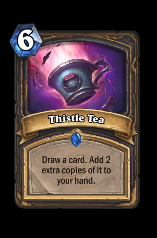 Thistle Tea Hearthstone kártya