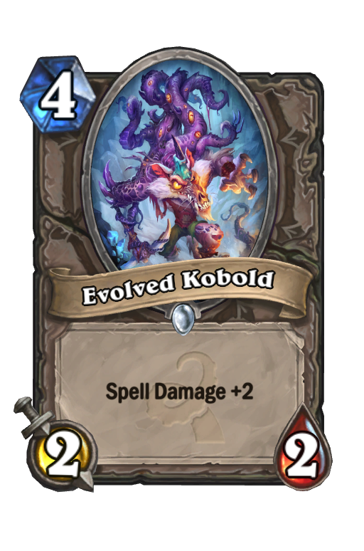 Evolved Kobold Hearthstone kártya