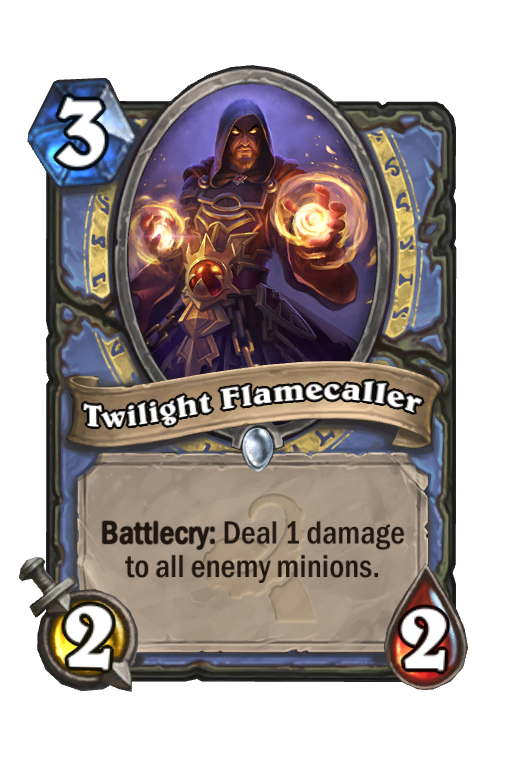 Twilight Flamecaller Hearthstone kártya
