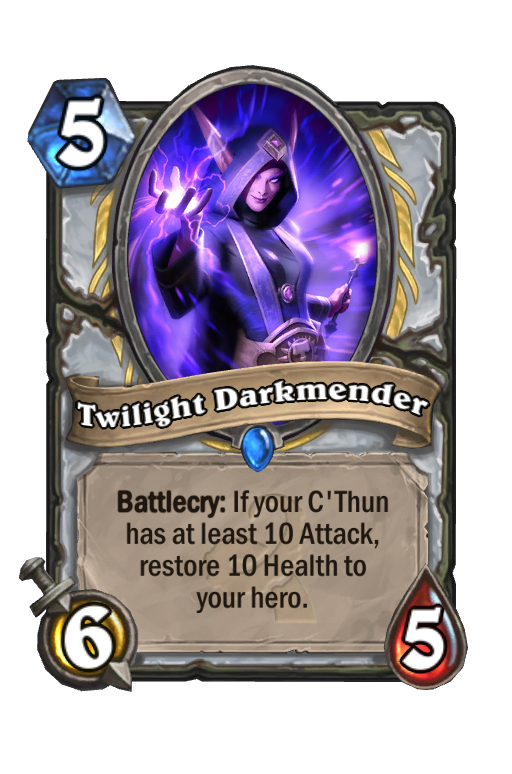 Twilight Darkmender Hearthstone kártya