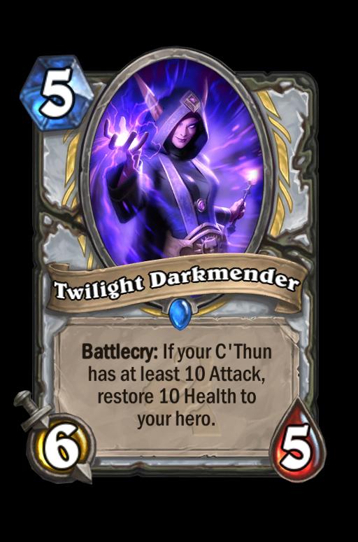 Twilight Darkmender Hearthstone kártya