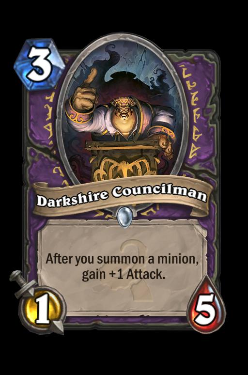 Darkshire Councilman Hearthstone kártya