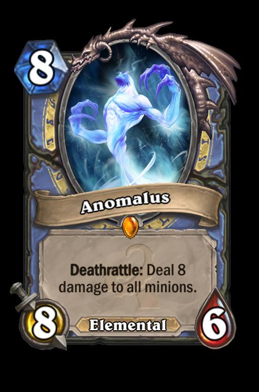 Anomalus Hearthstone kártya