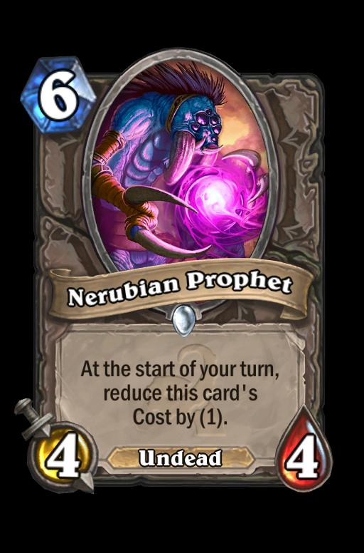 Nerubian Prophet Hearthstone kártya