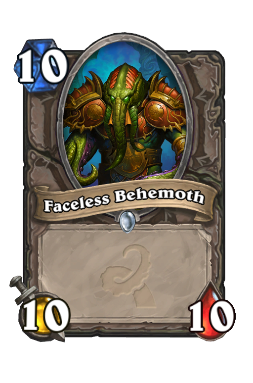 Faceless Behemoth Hearthstone kártya