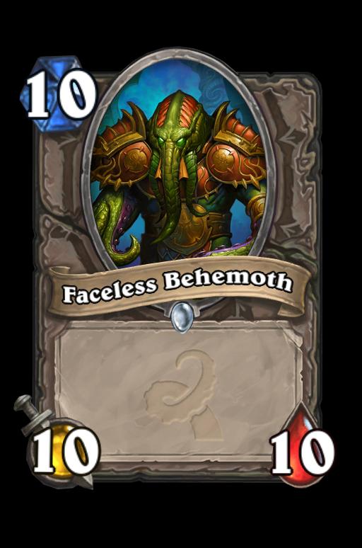 Faceless Behemoth Hearthstone kártya